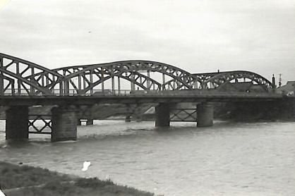 北海道三大名橋の旧豊平橋の写真