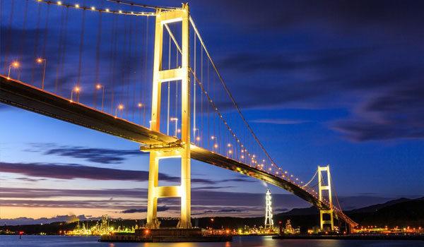 白鳥大橋の写真
